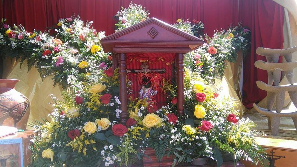 Santo de  Santa Cruz
