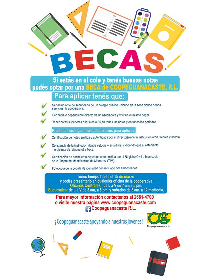 Becas Coope